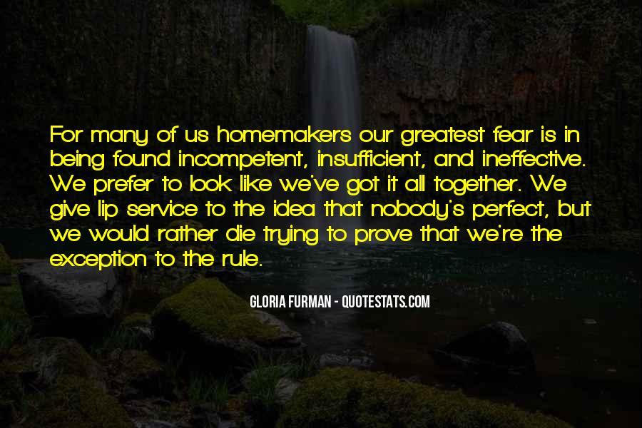 Gloria Furman Quotes #61654