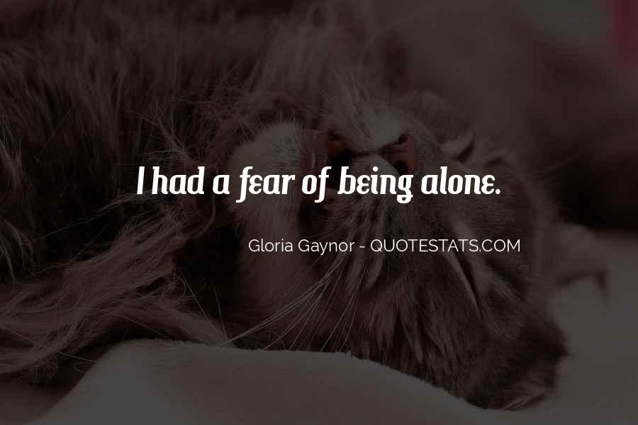 Gloria Gaynor Quotes #129520