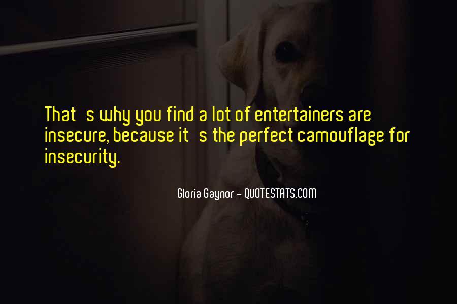 Gloria Gaynor Quotes #269541