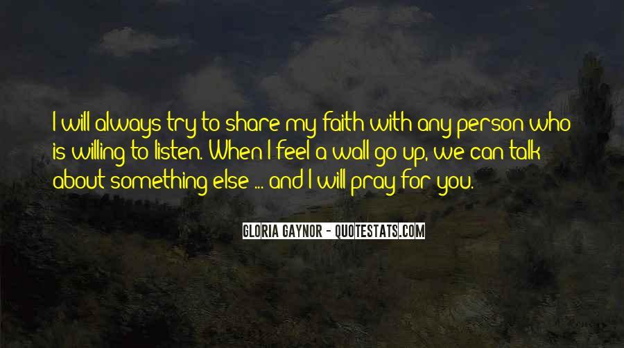 Gloria Gaynor Quotes #299073