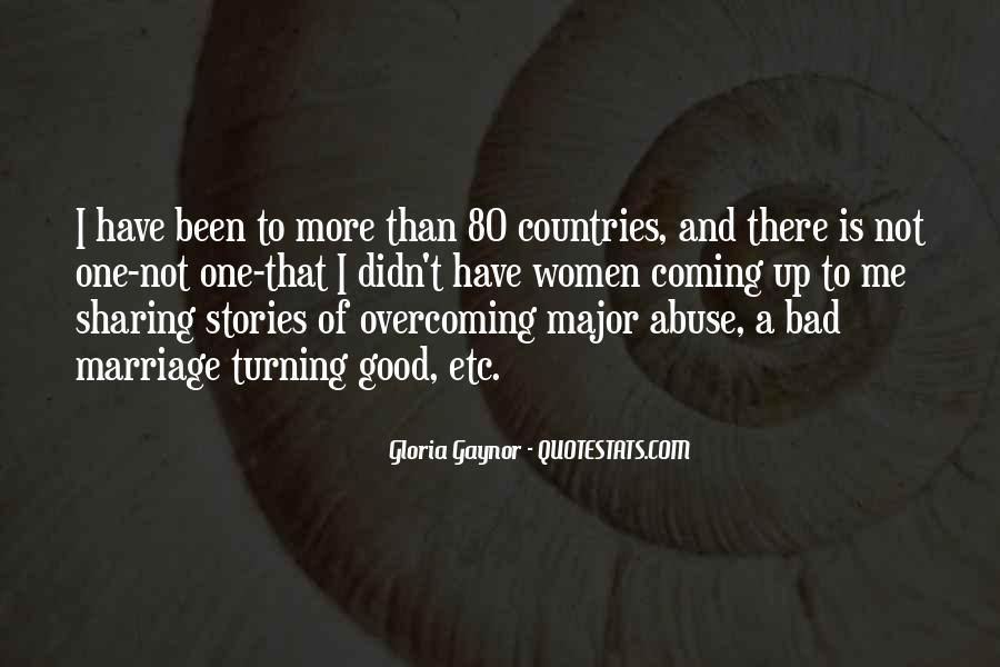Gloria Gaynor Quotes #901430