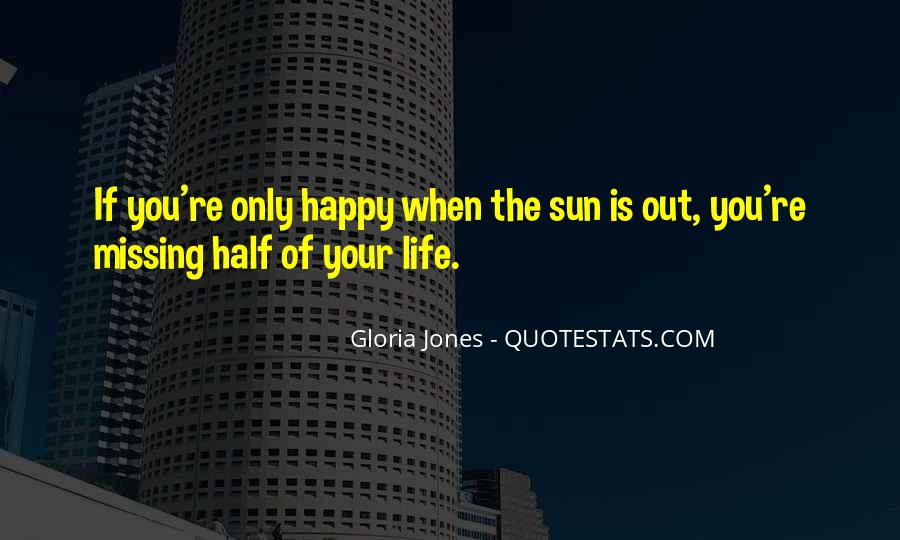 Gloria Jones Quotes #1335012
