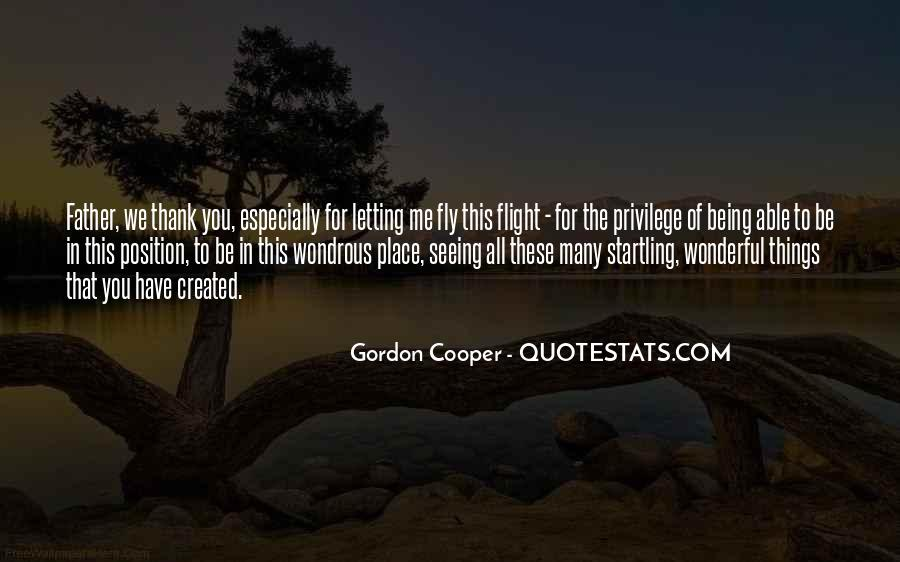 Gordon Cooper Quotes #1162898