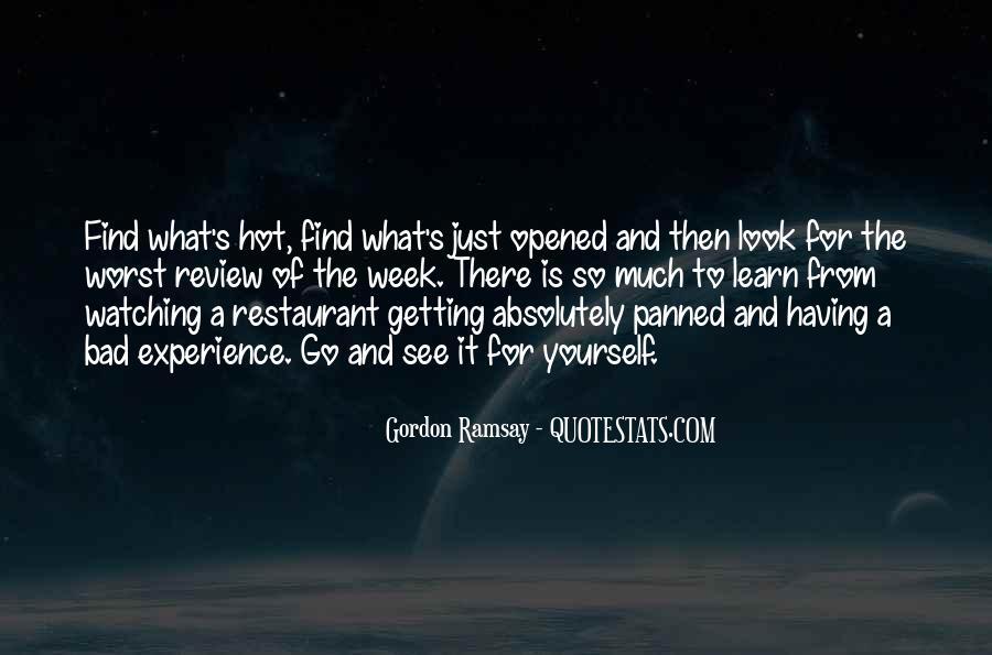 Gordon Ramsay Quotes #1087680
