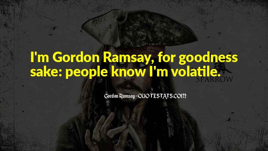 Gordon Ramsay Quotes #82415
