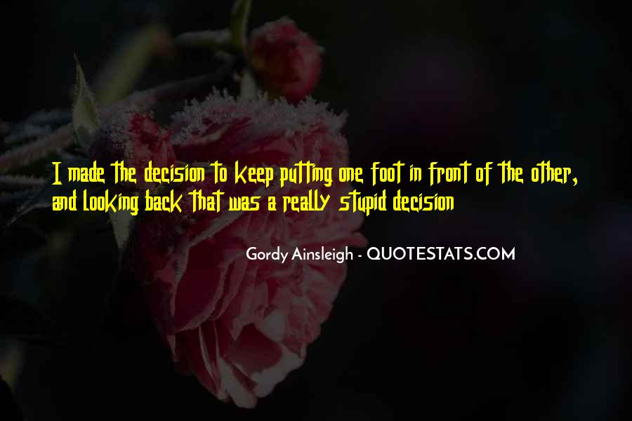 Gordy Ainsleigh Quotes #1499544
