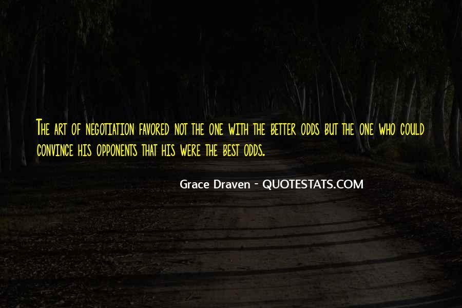 Grace Draven Quotes #1530351