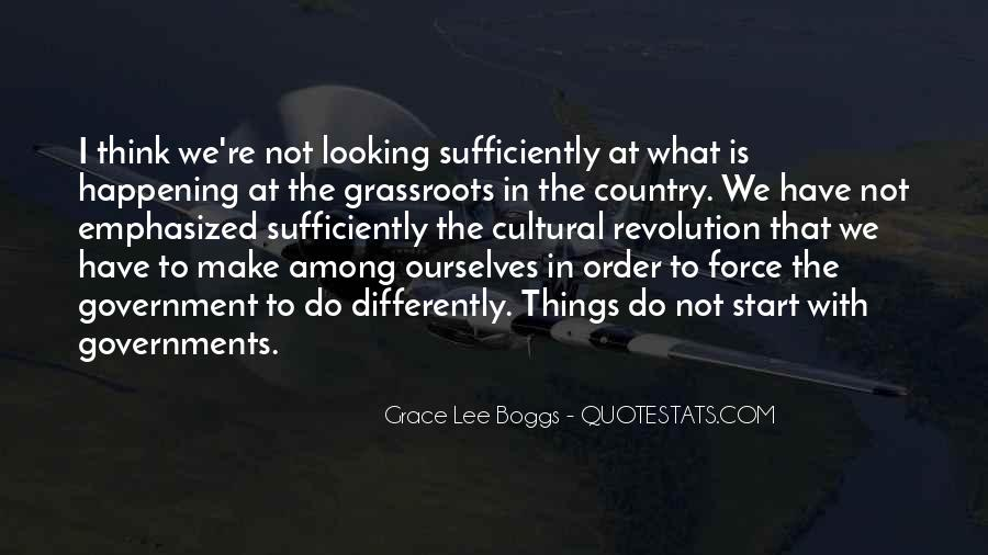 Grace Lee Boggs Quotes #1264947
