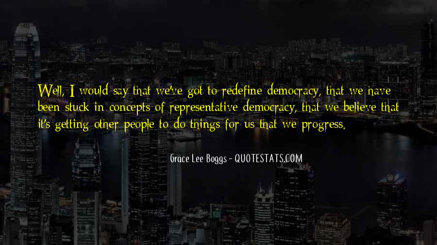 Grace Lee Boggs Quotes #28434