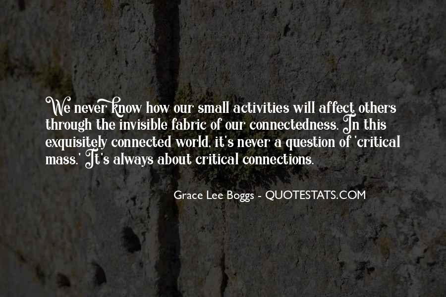 Grace Lee Boggs Quotes #383731