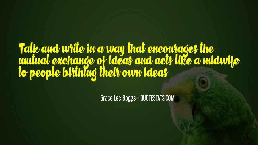 Grace Lee Boggs Quotes #515112