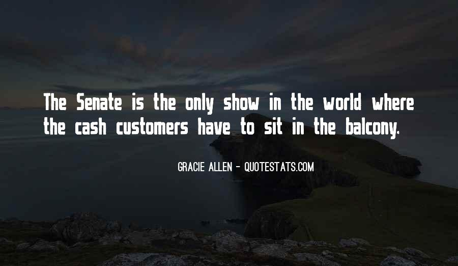 Gracie Allen Quotes #1053549