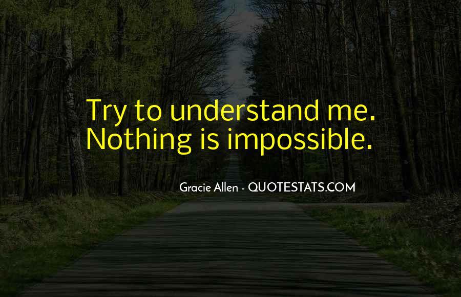 Gracie Allen Quotes #1154930