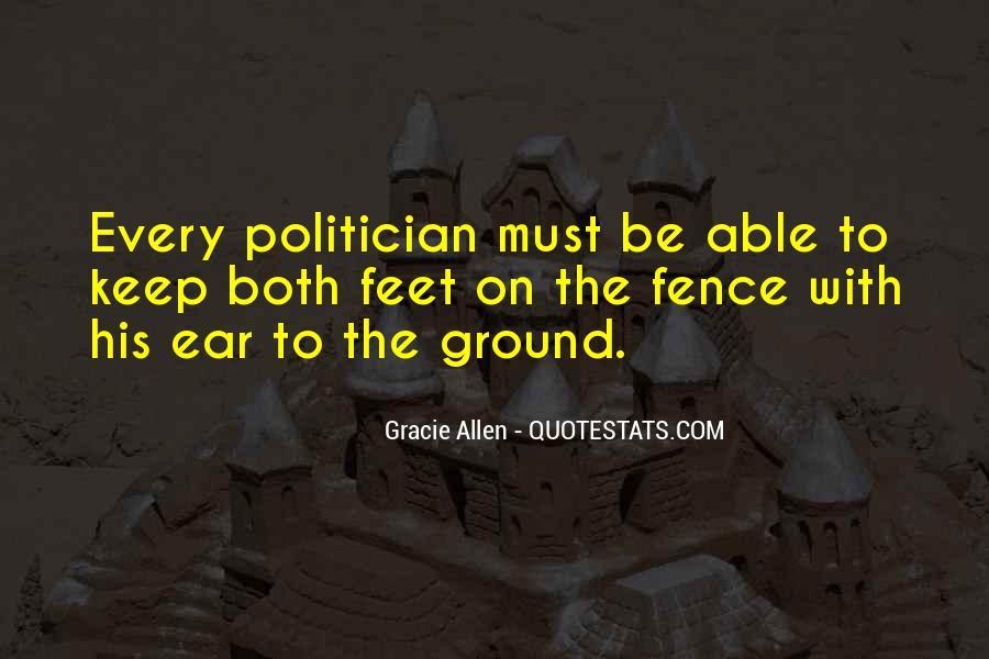 Gracie Allen Quotes #1682664