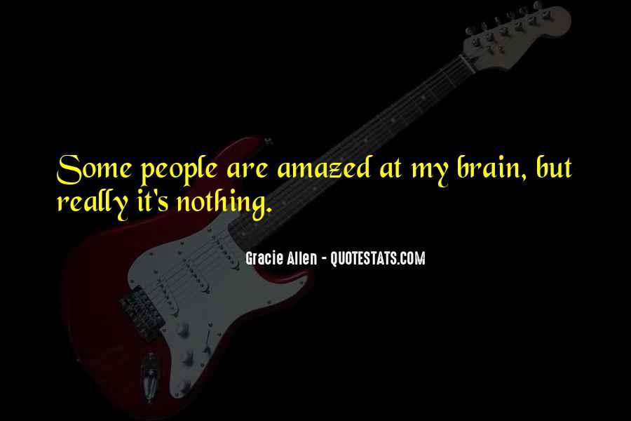 Gracie Allen Quotes #1833578