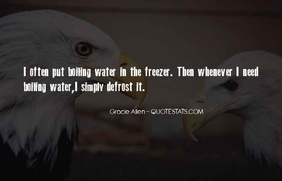 Gracie Allen Quotes #440217