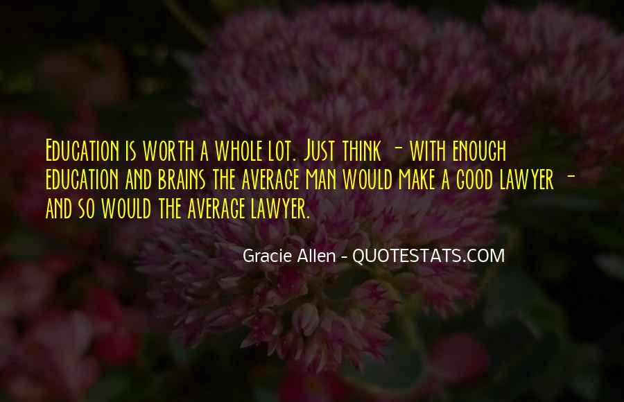 Gracie Allen Quotes #703436