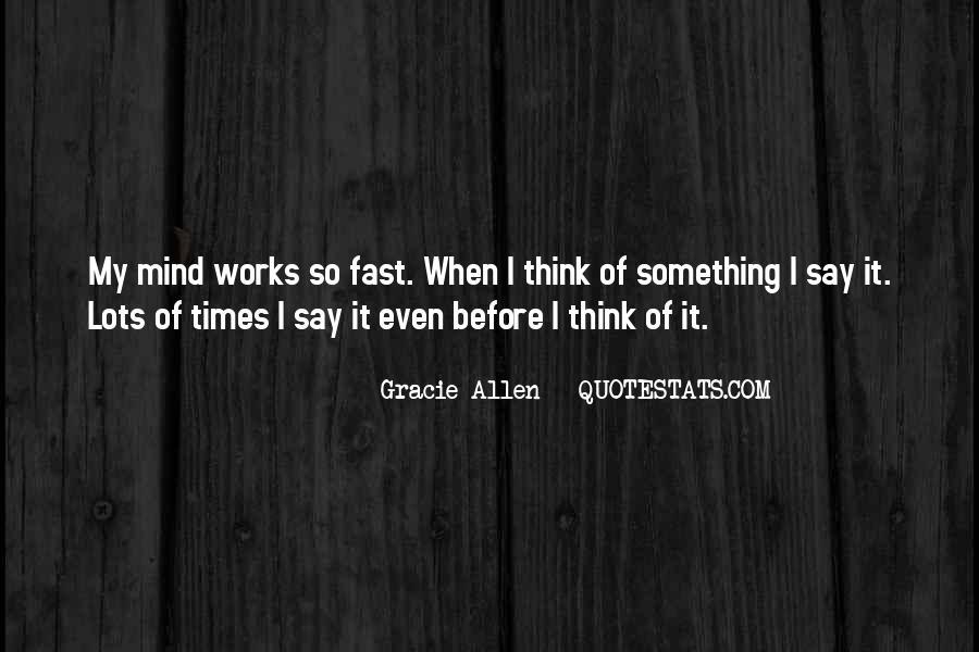 Gracie Allen Quotes #771893