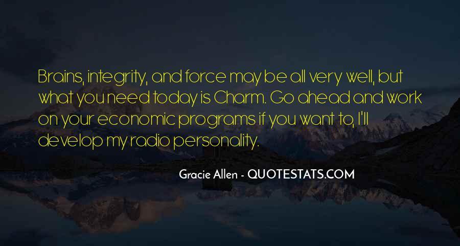 Gracie Allen Quotes #803410