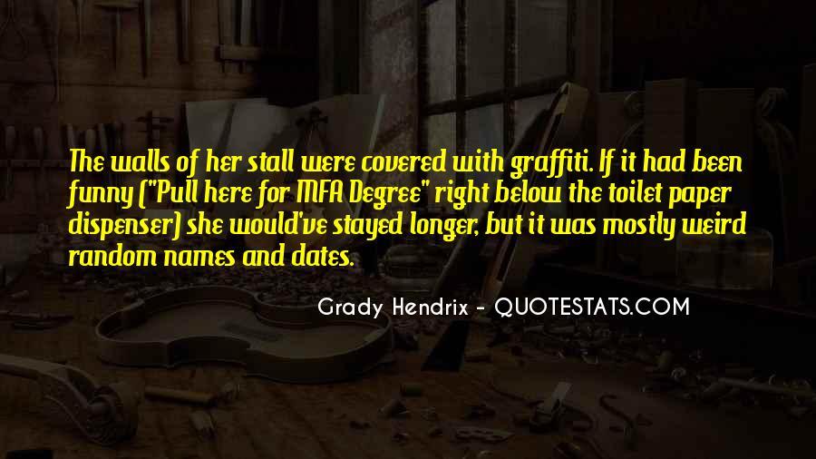 Grady Hendrix Quotes #1527886