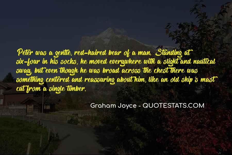 Graham Joyce Quotes #1861388