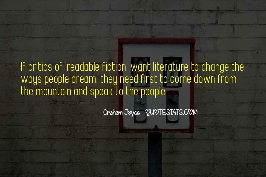 Graham Joyce Quotes #4058