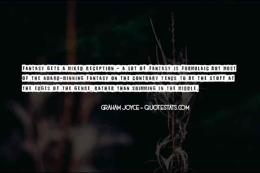 Graham Joyce Quotes #687169