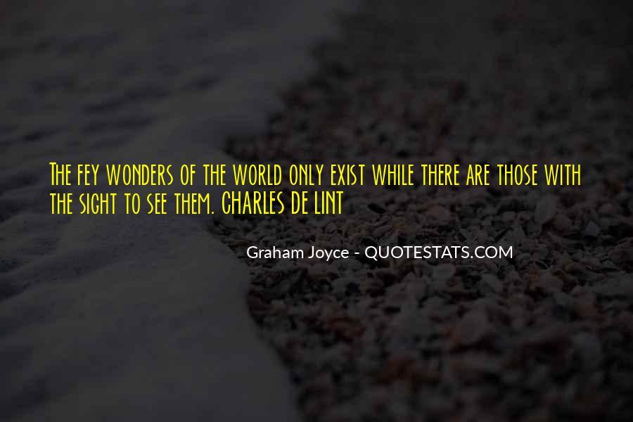 Graham Joyce Quotes #780076