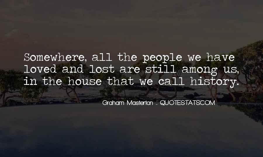 Graham Masterton Quotes #618335