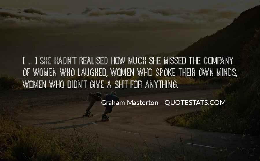Graham Masterton Quotes #913313