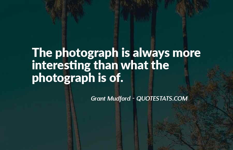Grant Mudford Quotes #770661