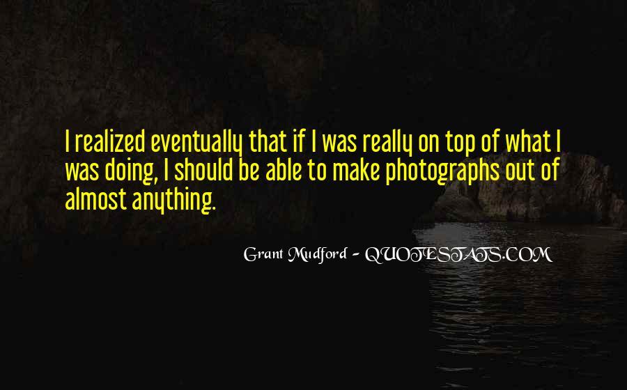 Grant Mudford Quotes #980416