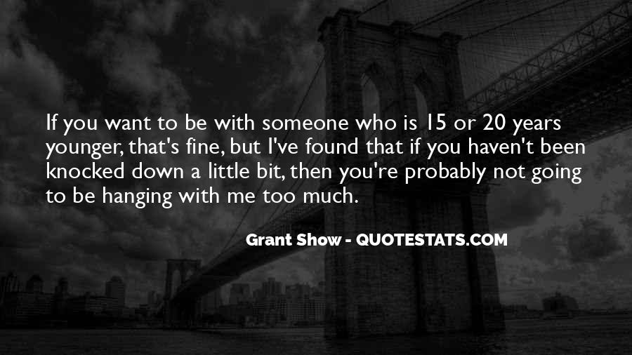 Grant Show Quotes #1269555