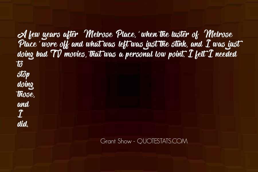 Grant Show Quotes #723611