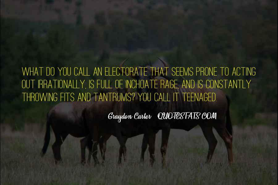 Graydon Carter Quotes #1366781
