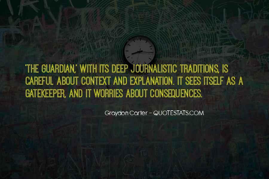 Graydon Carter Quotes #1583747