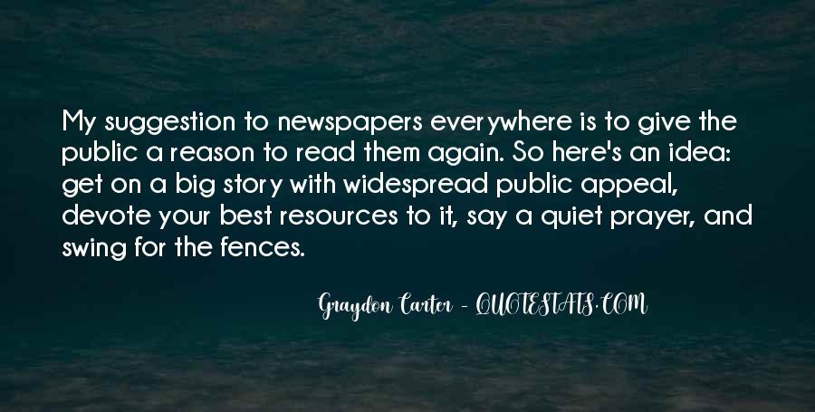 Graydon Carter Quotes #34426