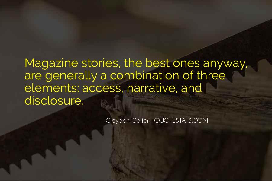 Graydon Carter Quotes #423897