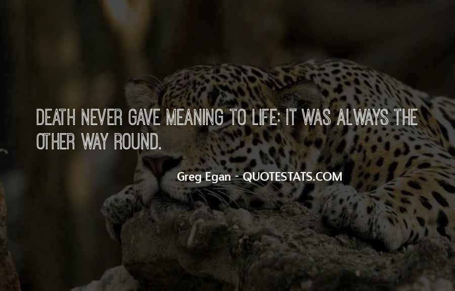 Greg Egan Quotes #1032819