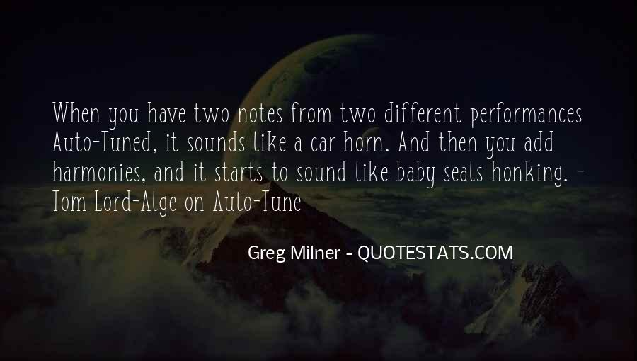 Greg Milner Quotes #1193186