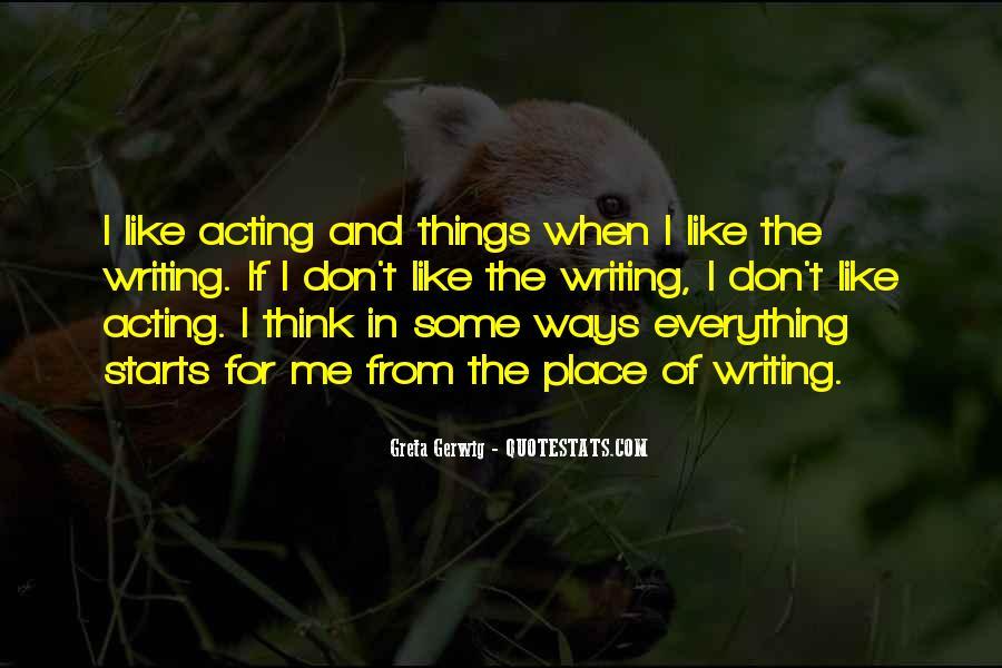 Greta Gerwig Quotes #1763539
