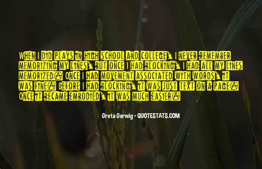 Greta Gerwig Quotes #1821985