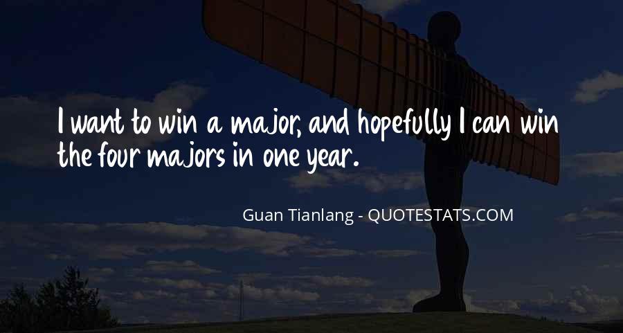 Guan Tianlang Quotes #952742