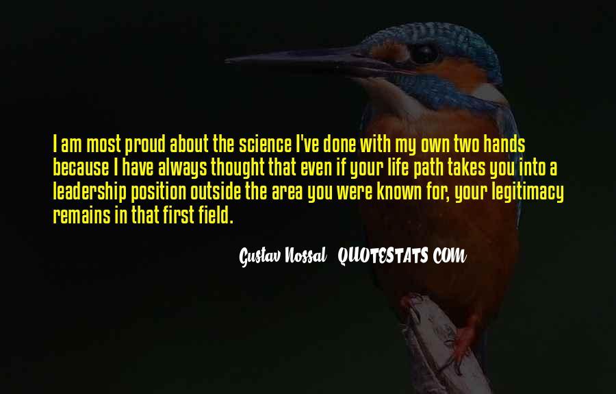 Gustav Nossal Quotes #1764039