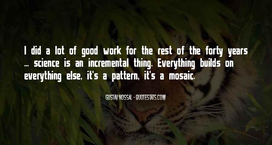 Gustav Nossal Quotes #3672