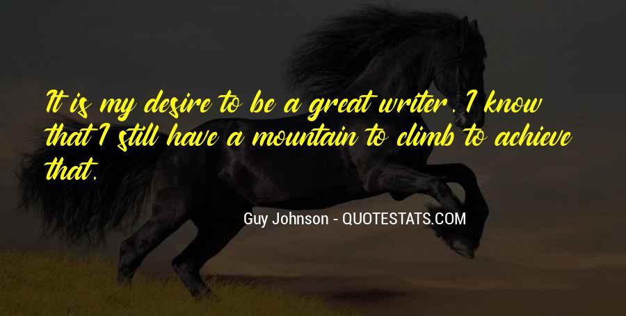 Guy Johnson Quotes #1039899