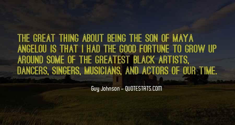 Guy Johnson Quotes #1224519