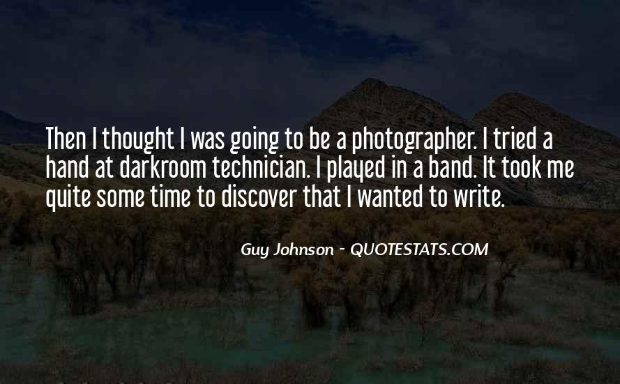 Guy Johnson Quotes #1808086