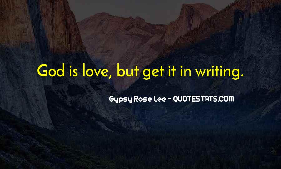Gypsy Rose Lee Quotes #1552861