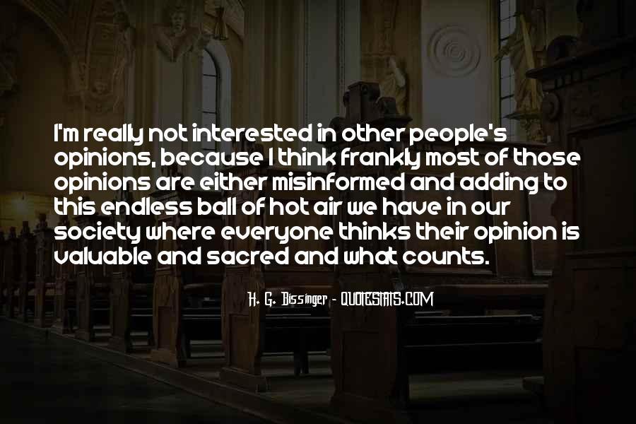 H. G. Bissinger Quotes #1021964